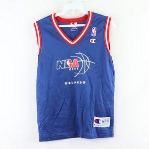 90s Champion Youth Medium NBA Orlando Jersey Blue